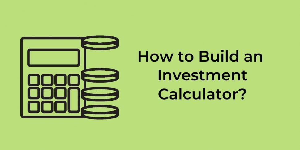 investment calculator