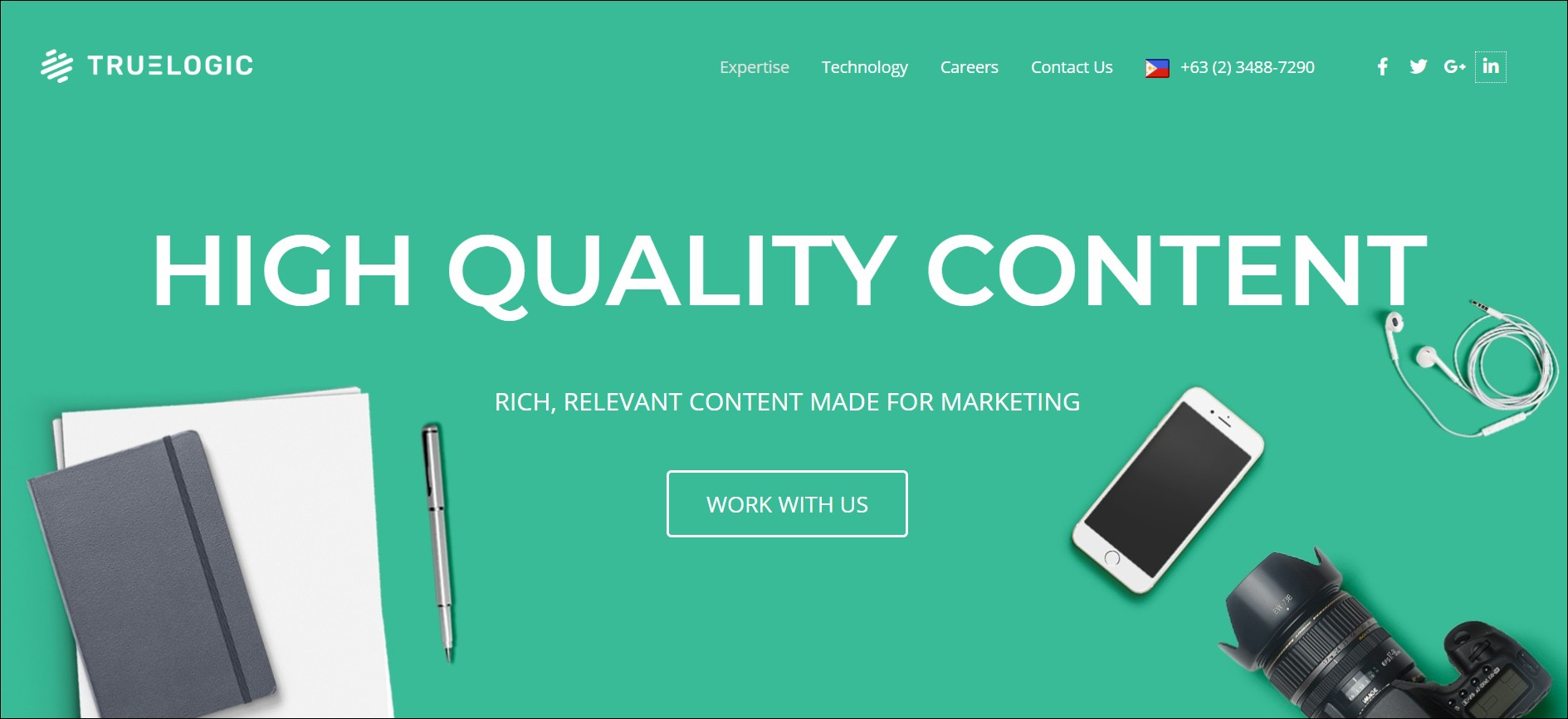 Truelogic: content marketing agencies in South East Asia