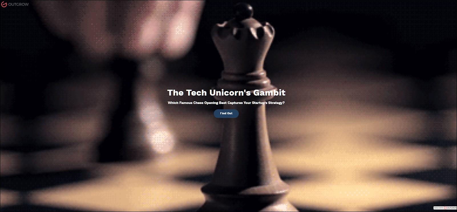 startup's gambit
