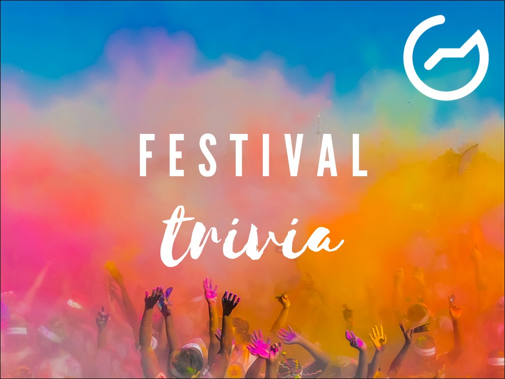 list of festival trivia questions